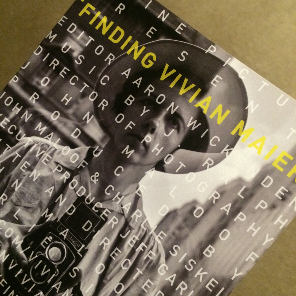"""movie pamphlet """"Finding Vivian Maiyer"""""""