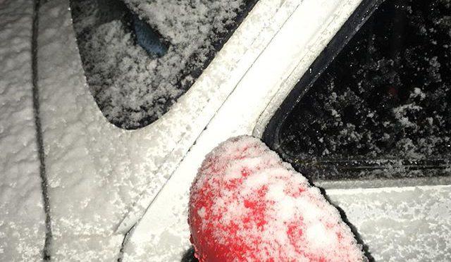 寒いと思ったら、、、雪かよ、、、 (from Instagram)