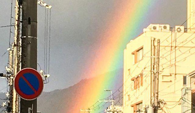 2、3日前の虹 (from Instagram)