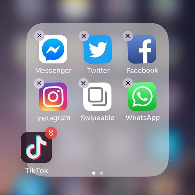 TikTok、あまりにチャラくて削除した。インスタどころじゃねーし。うっかりアプリ開けたらマナーモードなのに爆音で再生されて恥かくし、もうウザい! (from Instagram)
