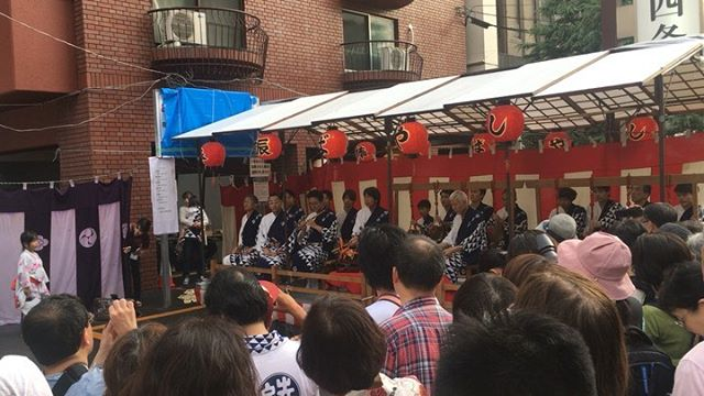 祇園祭宵山@綾傘鉾棒振 (from Instagram)