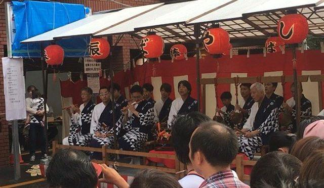 前の祭り宵山@綾傘鉾棒振ばやし (from Instagram)