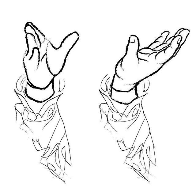 流鏑馬で矢を放った後の右手の掌が上を向くのが「本式」だとか、、、初めて知った。頼まれて描いている「こども流鏑馬」の図案もそれに合わせて修正。後からパーツだけぶっ込むのは難しいな。手のスケッチなんてのも、、、そんなの学生のとき以来、永がらくやってないしなあ。ただ、今は絵筆や鉛筆じゃなく、グラフィックソフト使ってパソコンのマウスでグリグリやってでっち上げるから、まあ、何度でもやり直しがきくんで、それらしくできた。向かって左側の右手はクライアントから提供された資料写真が下敷きの最初の稿(何ともシンプル!)。左側の右手が描き直した件の流鏑馬の手。ちなみにこれは小学生の手。(新たに描いた方のモデルは僕の手だけど、厚ぼったくて指が短く、もともと子供の手のようだから、さほどアレンジに必要はなかったW) (from Instagram)