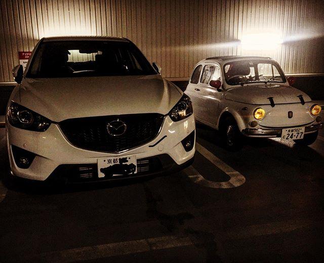 マツダのCX-5が巨大なわけじゃないけど、、、 (from Instagram)