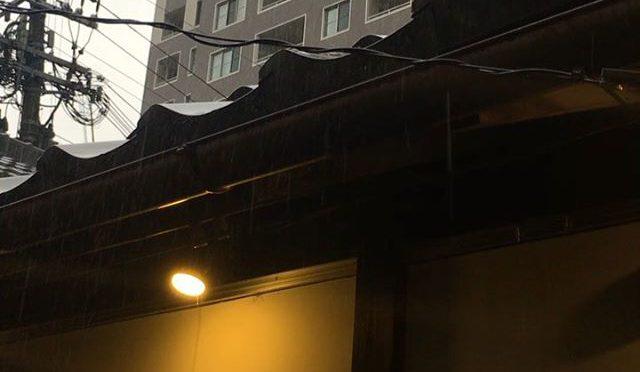 雨宿り中。@sakaimachi-garow (from Instagram)