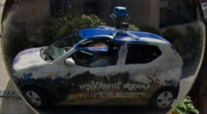 Google Street View Selfy グーグル・ストリートビュー自撮り