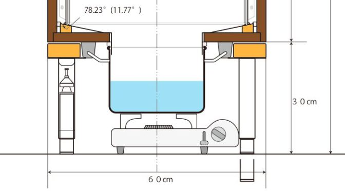 蒸し器の図面